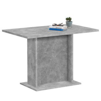 FMD Eettafel 110 cm betongrijs