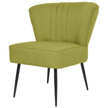 vidaXL Cocktailstoel stof groen