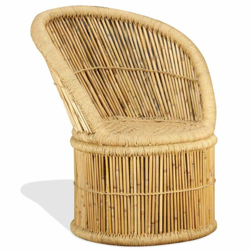 Stoel bamboe