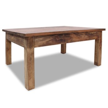 vidaXL Salontafel 98x73x45 cm massief gerecycled hout