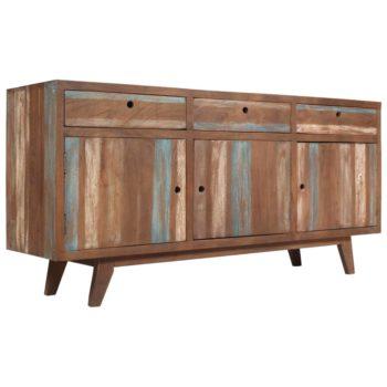 vidaXL Dressoir vintage stijl 145x40x75 cm massief hout