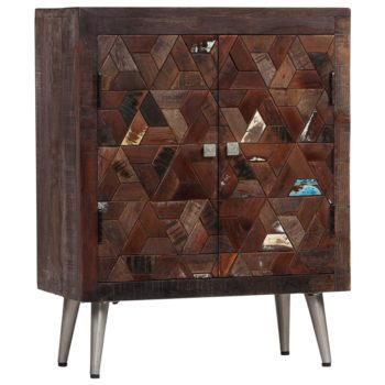vidaXL Dressoir 60x30x76 cm massief gerecycled hout