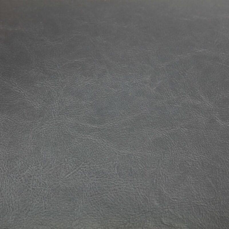 Kuipstoel kunstleer grijs