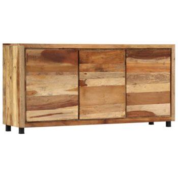 vidaXL Bijzetkast 160x38x79 cm massief gerecycled hout