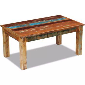 vidaXL Salontafel 100x60x45 cm massief gerecycled hout