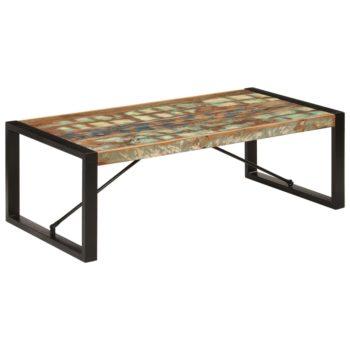 vidaXL Salontafel 120x60x40 cm massief gerecycled hout