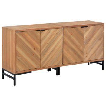 vidaXL Dressoir 150x35x72 cm massief hout
