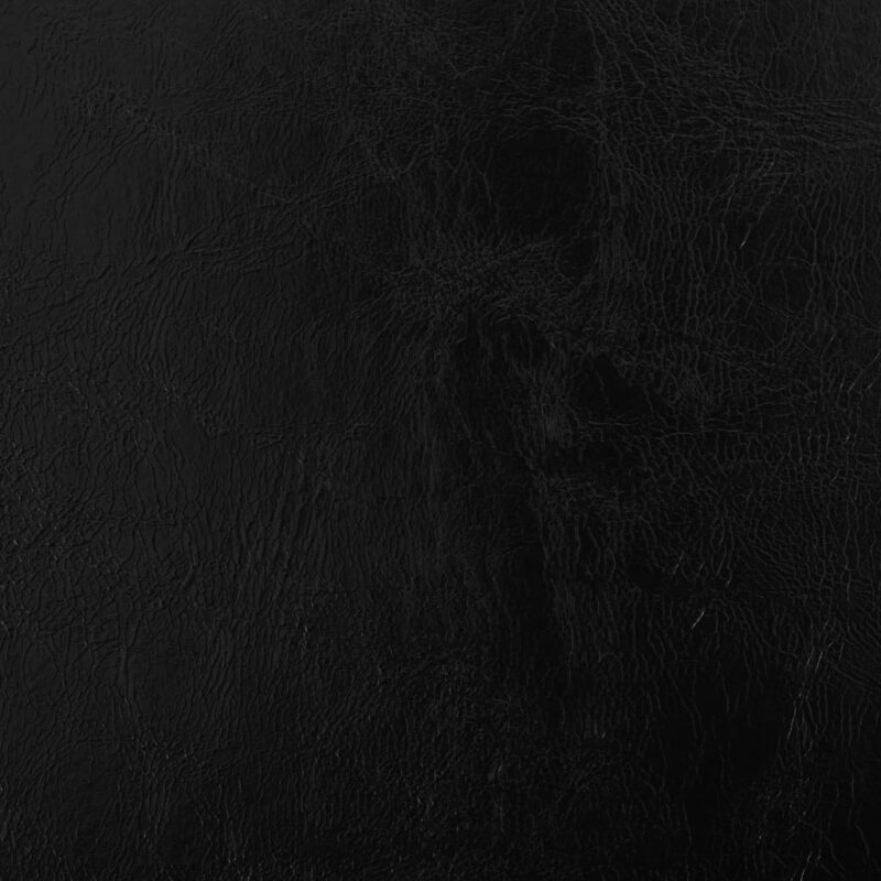 Eetkamerstoelen draaibaar 6 st kunstleer zwart