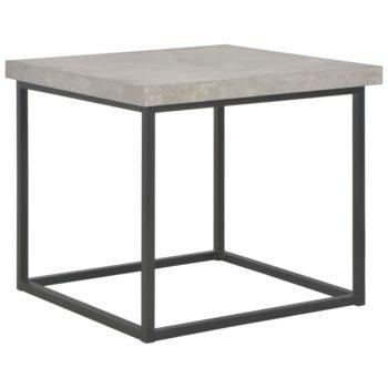 vidaXL Salontafel 55x55x53 cm beton-look