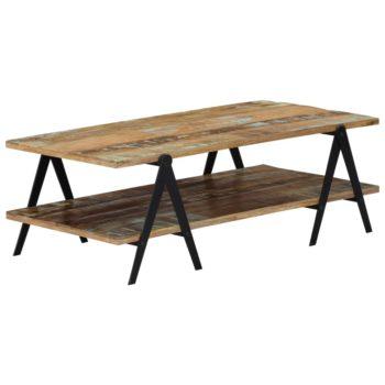 vidaXL Salontafel 115x60x40 cm massief gerecycled hout