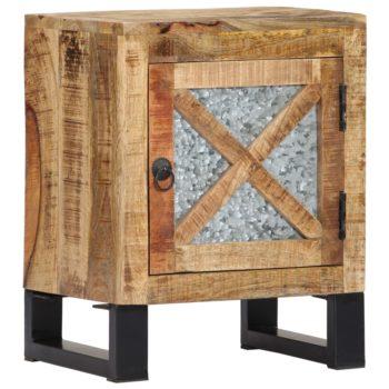 vidaXL Nachtkastje 40x30x50 cm massief mangohout