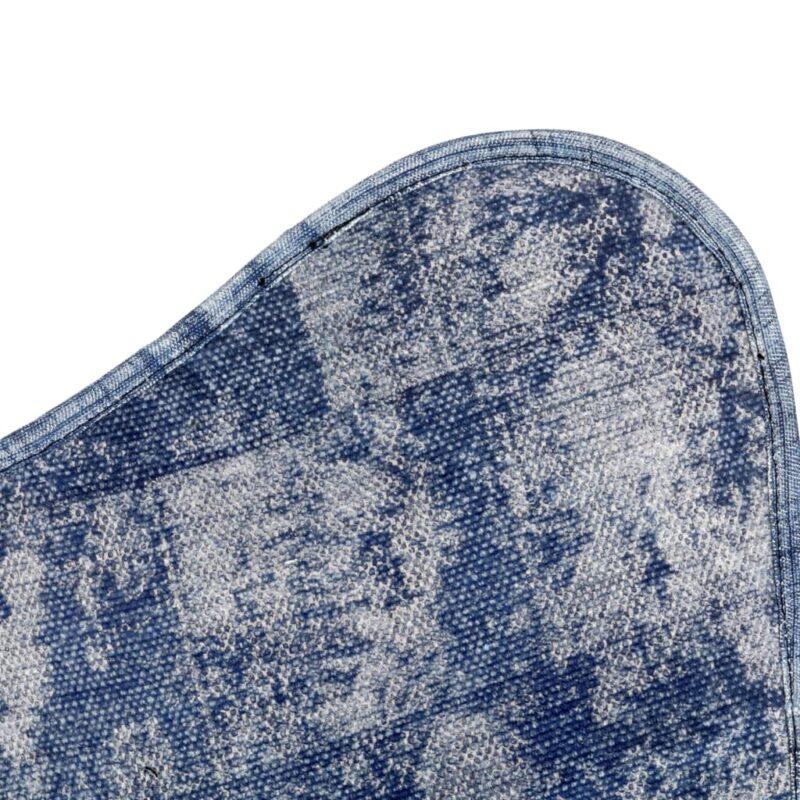 Vlinderstoel canvas indigo-blauw