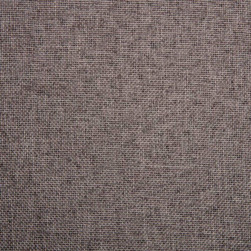 Eetkamerstoelen draaibaar 4 st stof taupe