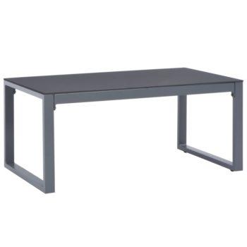 vidaXL Salontafel 90x50x40 cm aluminium