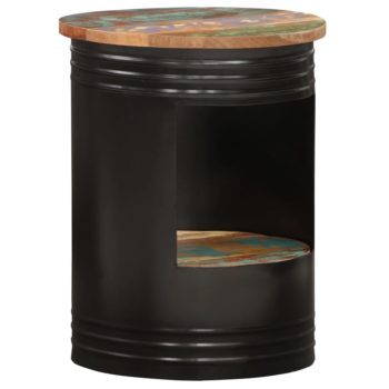 vidaXL Salontafel 43×55 cm massief gerecycled hout