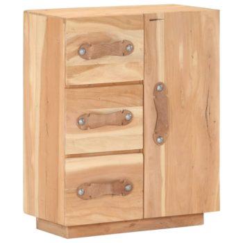 vidaXL Dressoir 60x30x75 cm massief gerecycled hout