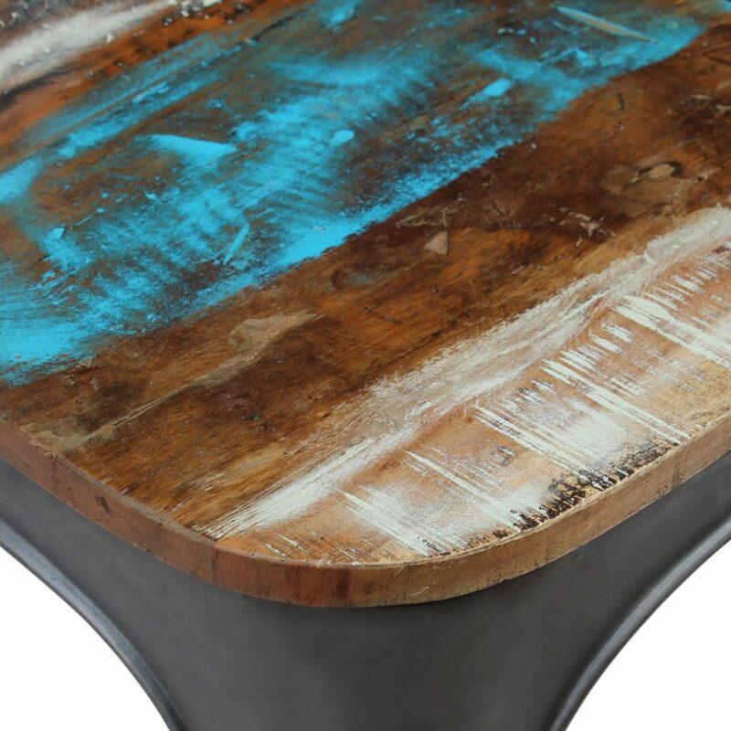 Eetkamerstoelen 2 st massief gerecycled hout