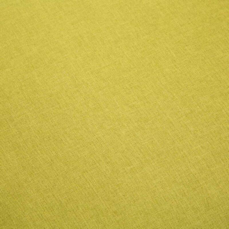 Eetkamerstoelen 2 st stof groen