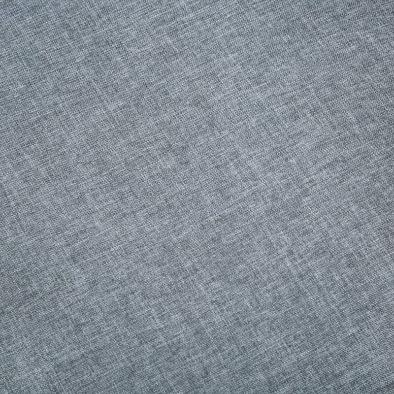 Fauteuil stof lichtgrijs