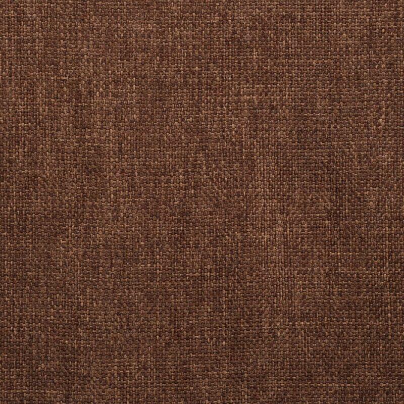 Eetkamerstoelen draaibaar 2 st stof bruin