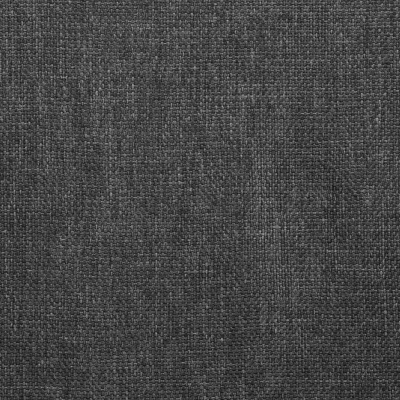 Eetkamerstoelen draaibaar 2 st stof donkergrijs