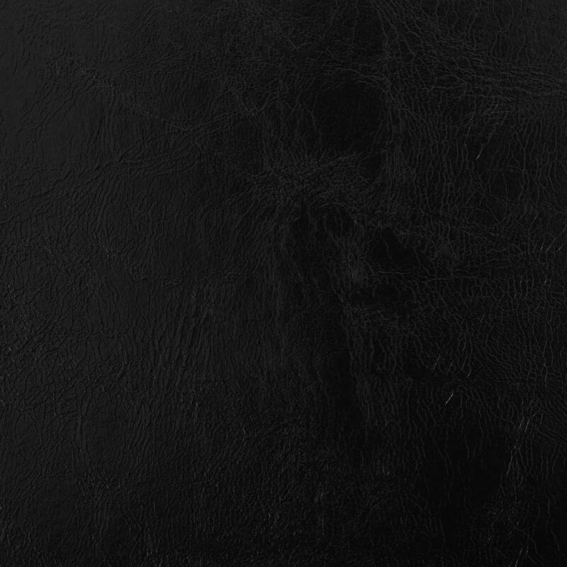Eetkamerstoelen draaibaar 2 st kunstleer zwart