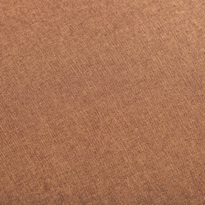 Fauteuil stof bruin