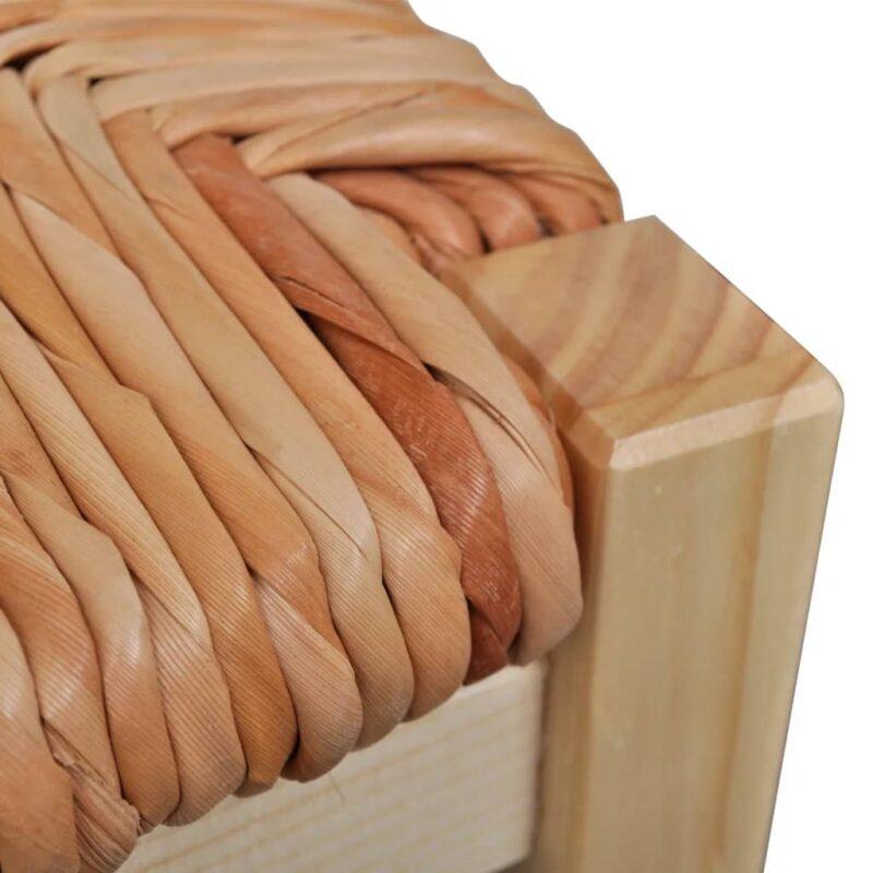 Eetkamerstoelen grenenhout 4 st