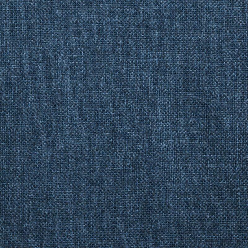 Eetkamerstoelen draaibaar 4 st stof blauw