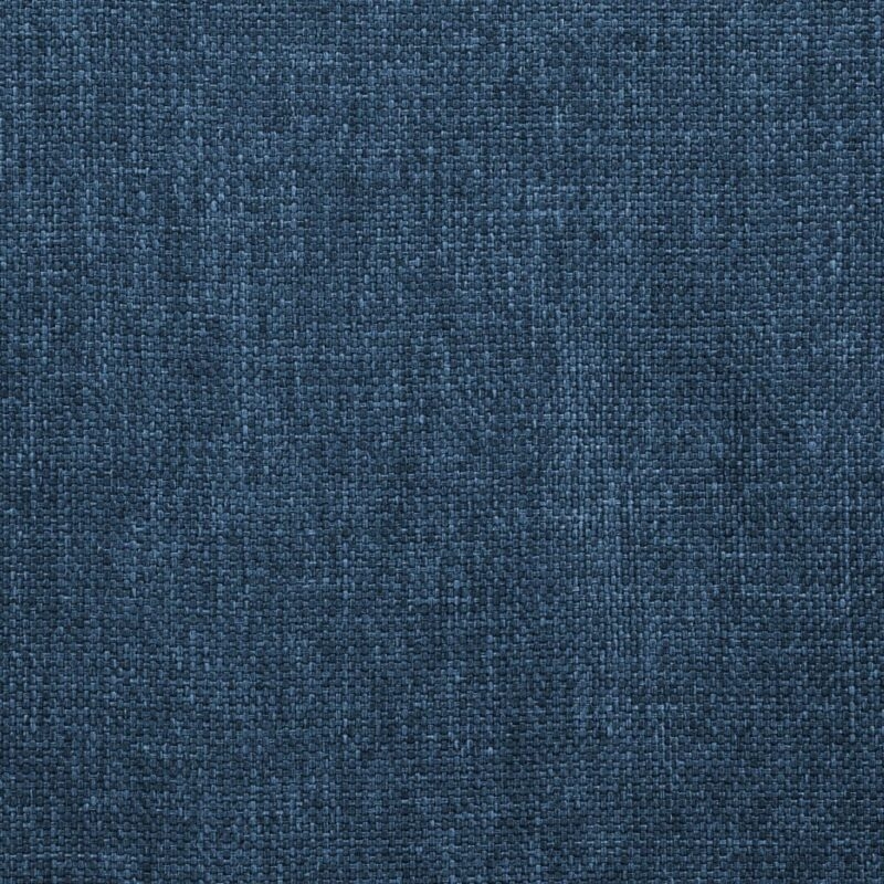 Eetkamerstoelen 6 st stof blauw