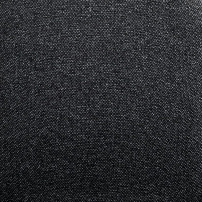Eetkamerstoelen 4 st stof en massief eikenhout grijs