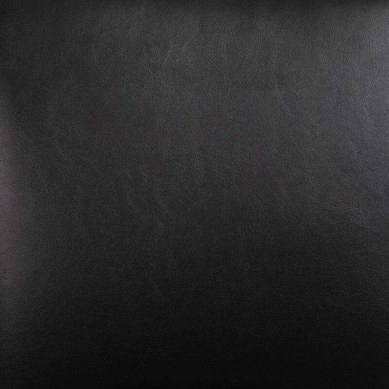 Eetkamerstoelen 2 st kunstleer zwart