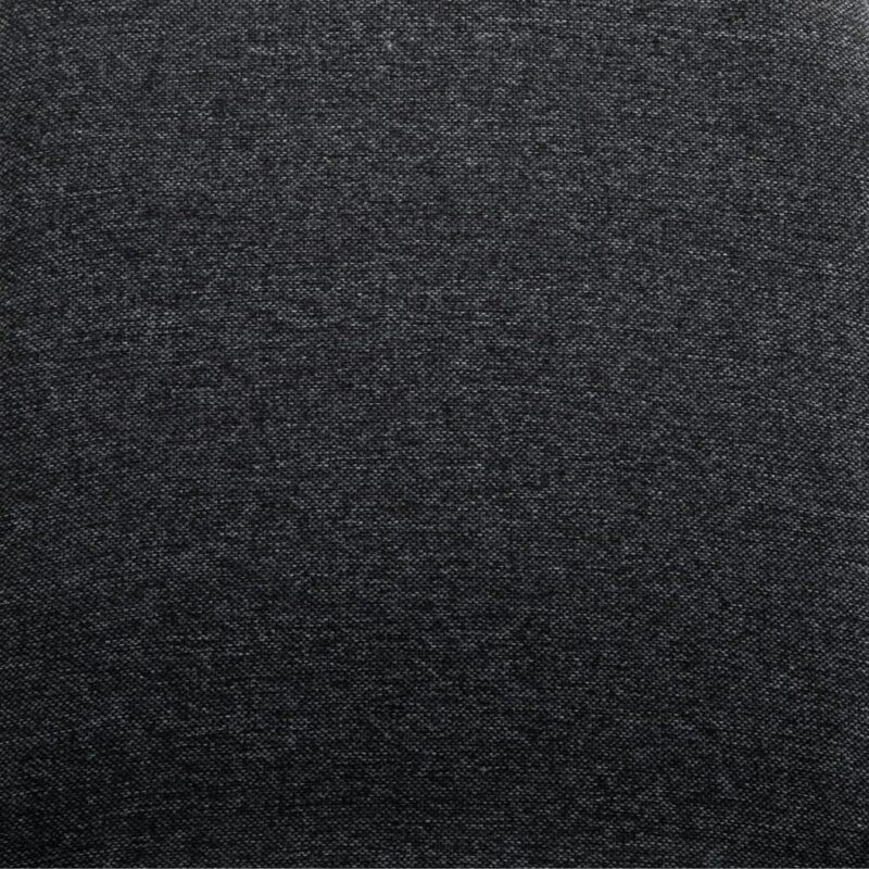 Eetkamerstoelen 2 st stof en massief eikenhout grijs