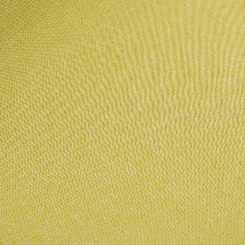 Eetkamerstoelen 4 st stof en massief eikenhout groen