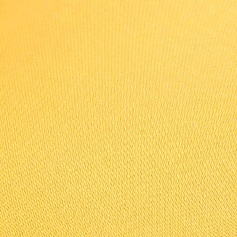 Eetkamerstoelen 2 st stof en massief eikenhout geel