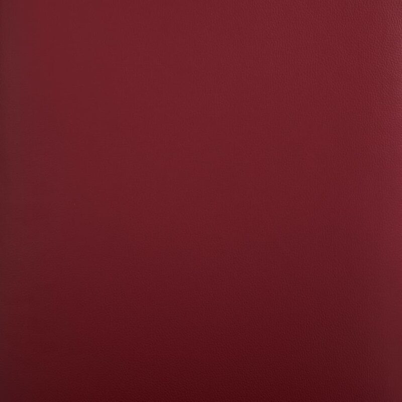 Eetkamerstoelen 2 st kunstleer rood
