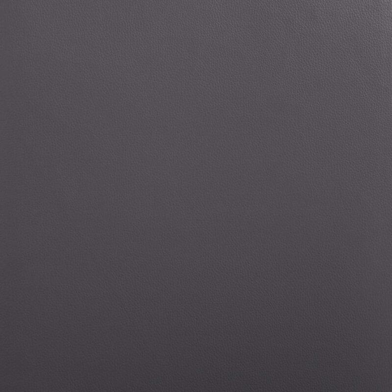 Eetkamerstoelen 4 st kunstleer grijs