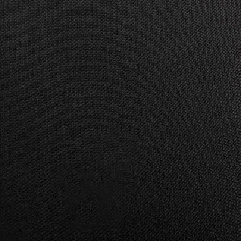 Eetkamerstoelen 4 st stof zwart