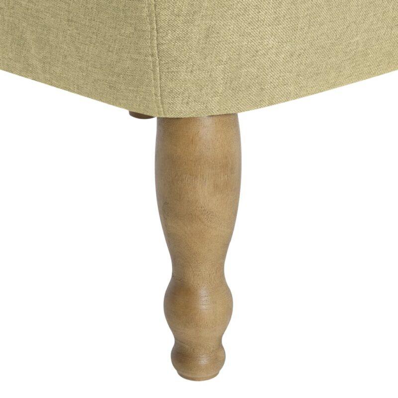 Franse stoel stof groen