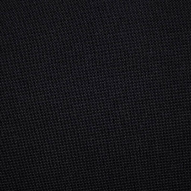 Fauteuil kubus stof zwart