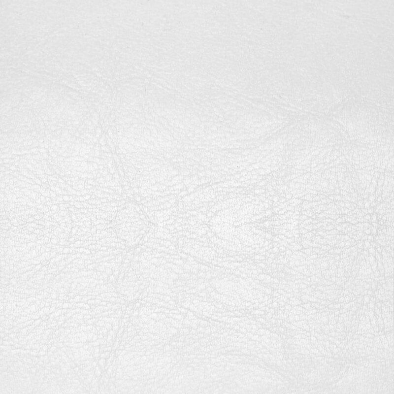 Fauteuil kunstleer wit