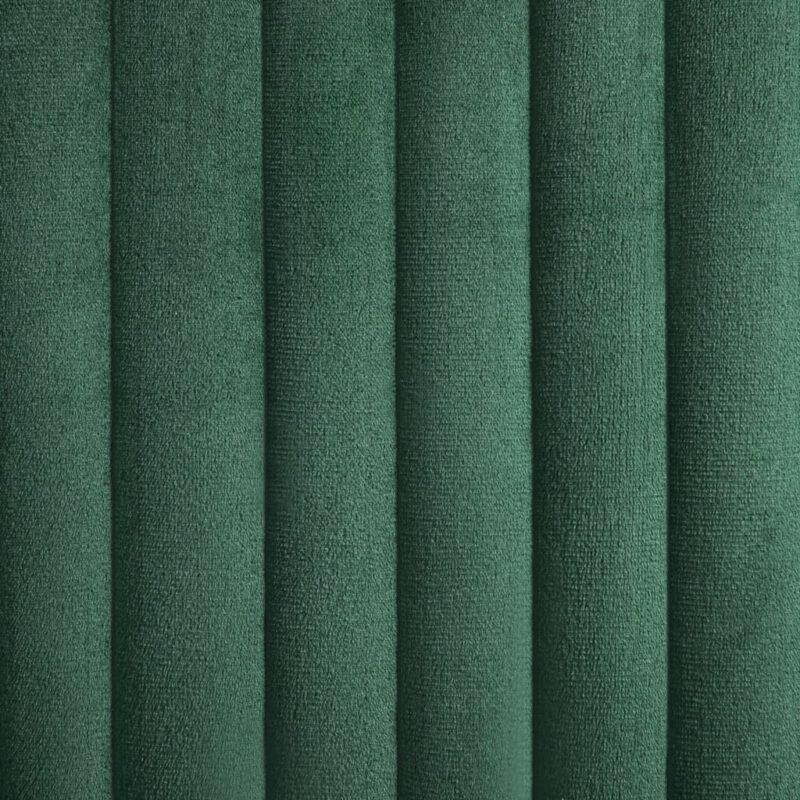 Eetkamerstoelen 4 st fluweel groen