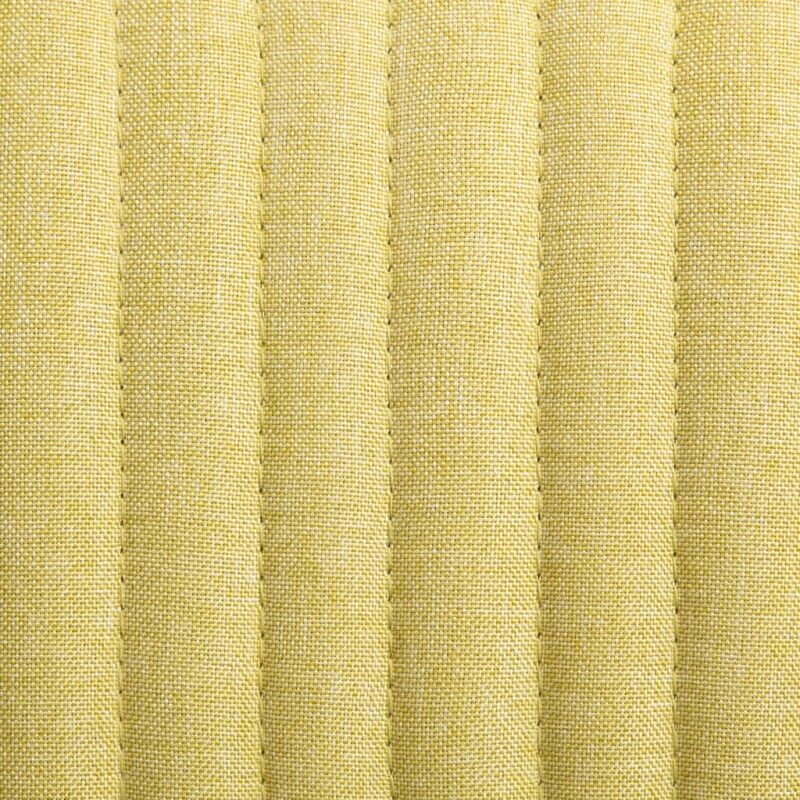 Eetkamerstoelen 6 st stof groen