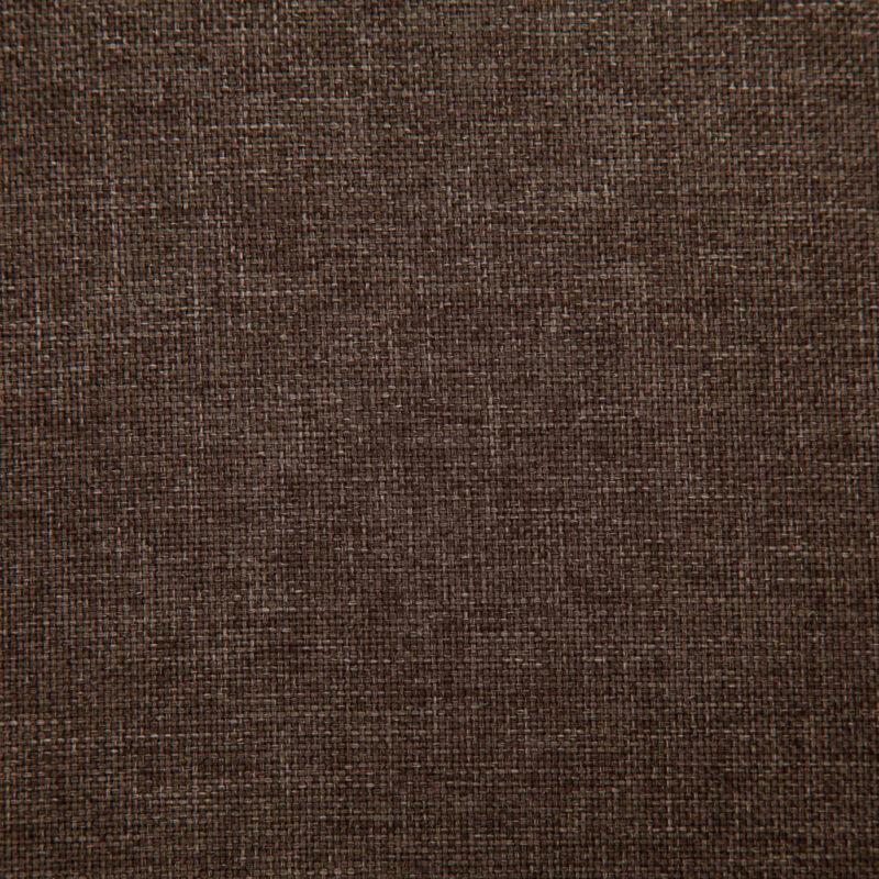 Eetkamerstoelen 4 st stof bruin