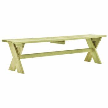 vidaXL Tuinbank 170 cm geïmpregneerd grenenhout