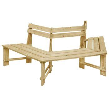 vidaXL Tuinbank 240 cm geïmpregneerd grenenhout