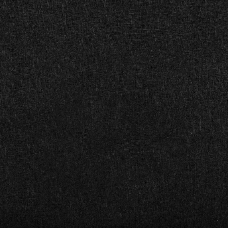 Leunstoel stof zwart