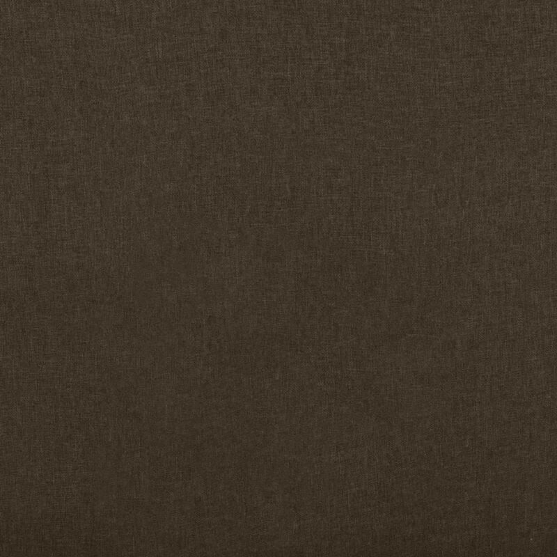 Leunstoel stof bruin