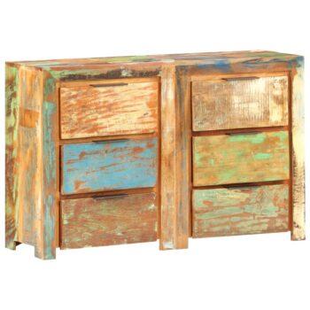 vidaXL Ladekast 118x33x75 cm massief gerecycled hout
