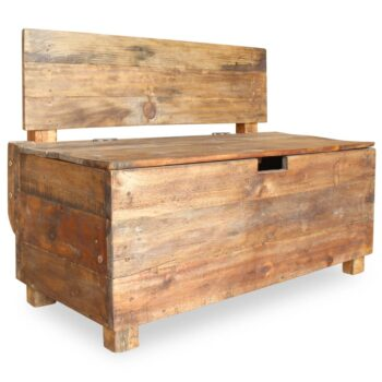 vidaXL Bank 86x40x60 cm massief gerecycled hout